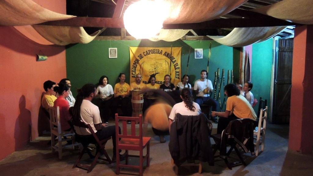 Casa verde capoeira